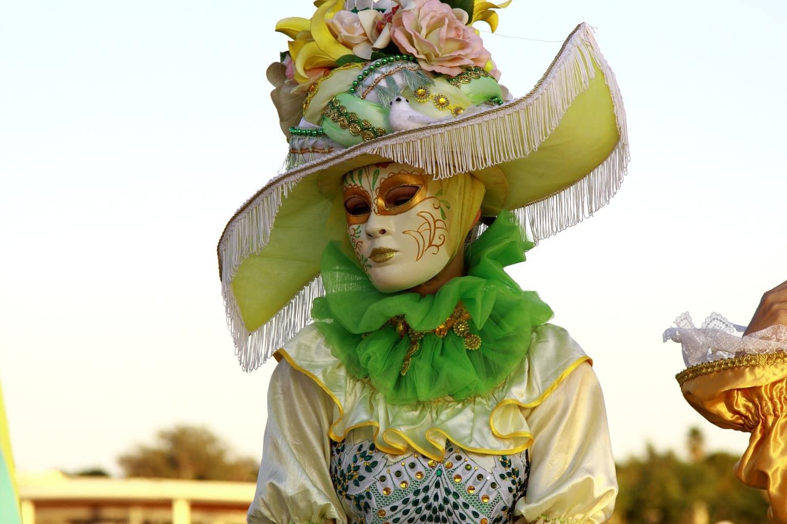 fotografía carnaval de Venecia