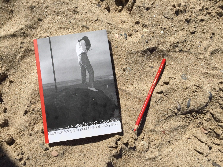 Portada con lápiz Libro La Visión Fotográfica