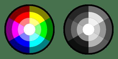 ejemplo colores y blanco y negro