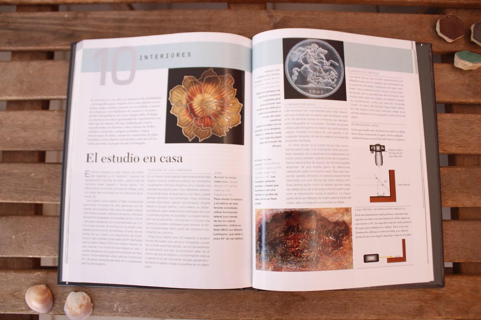 Interiores libro Macrofotografía