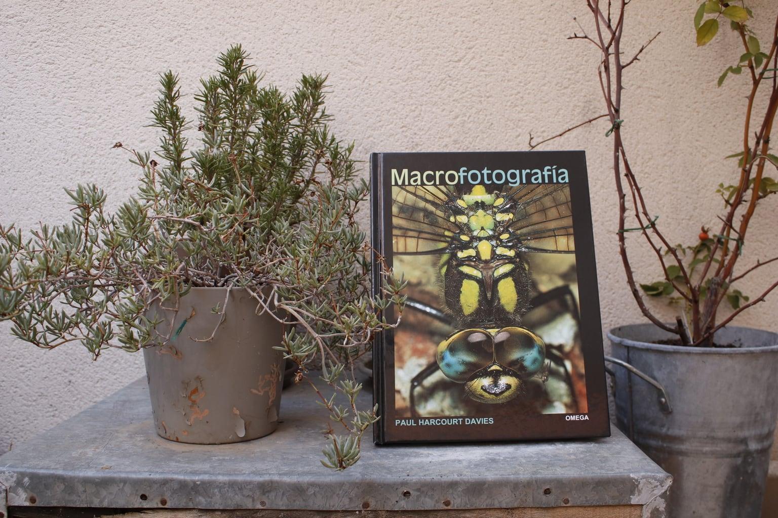 Fotografía libro Macrofotografía