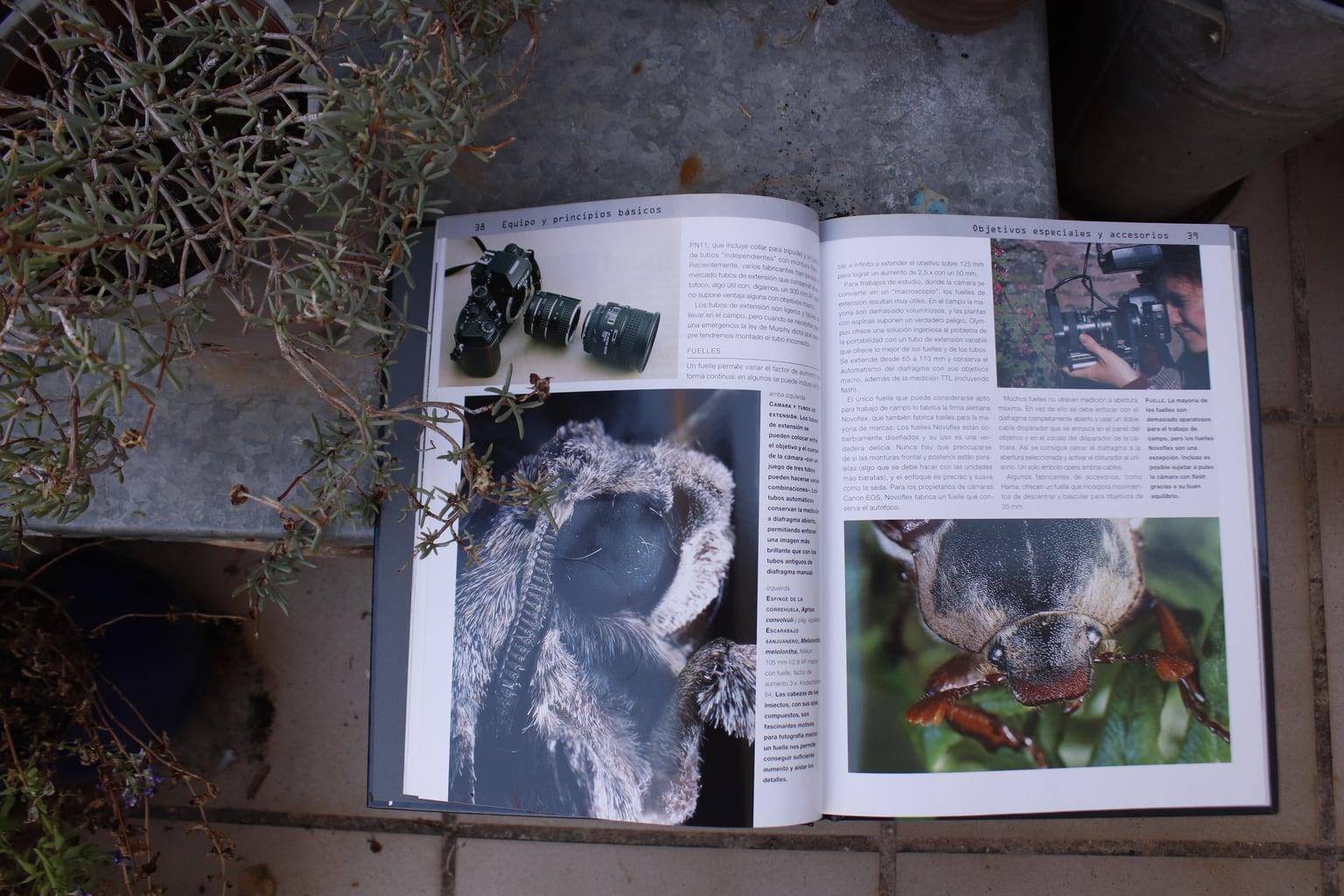 Equipo y accesorios libro Macrofotografía