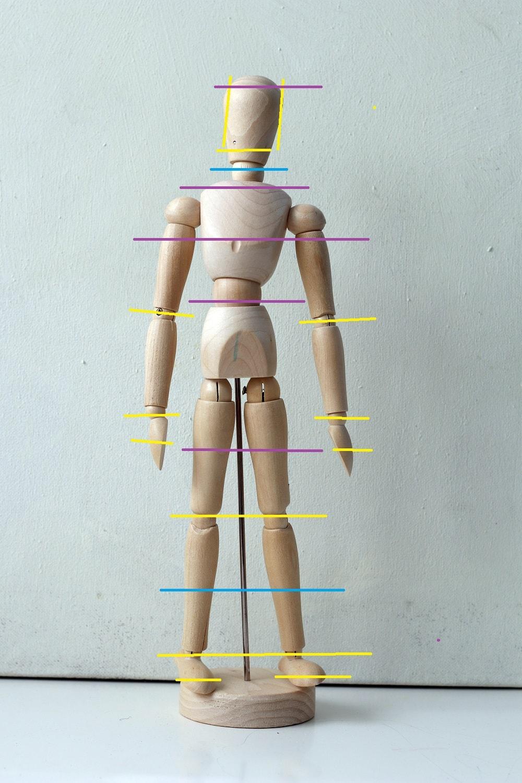 modelo de madera