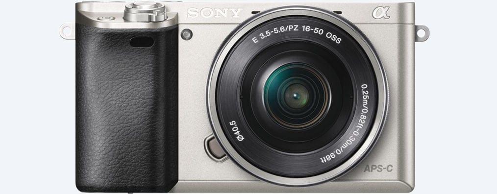 Frontal Cámara EVIL Sony A6000