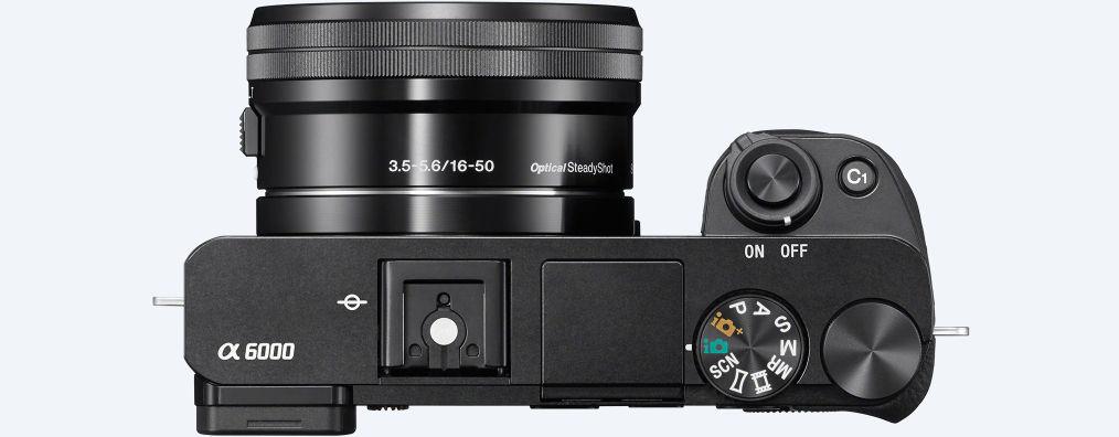 Objetivo Cámara EVIL Sony A6000