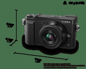 frontal Cámara EVIL Lumix GX80