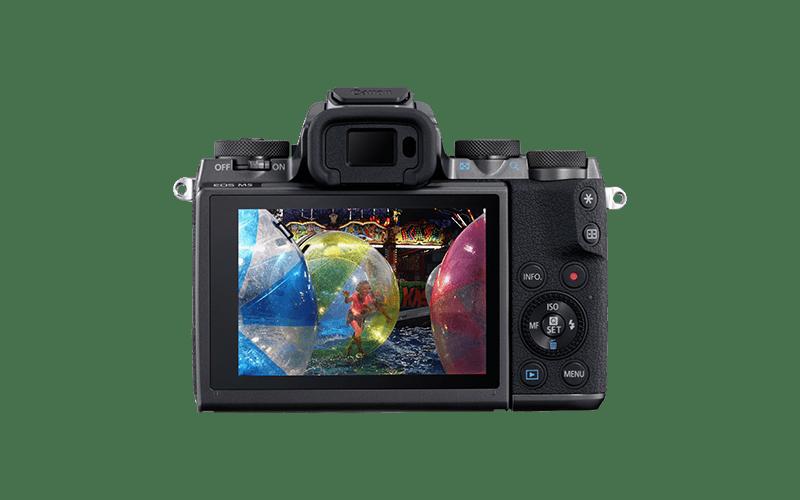 Pantalla Cámara EVIL Canon EOS M5