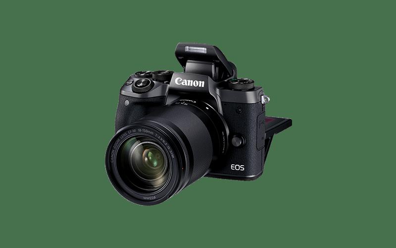 Frontal Cámara EVIL Canon EOS M5