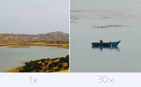 Zoom óptico Sony DSC-HX60