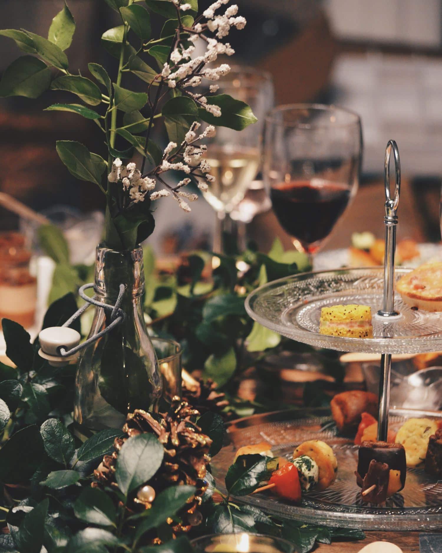fotografía cena fin de año