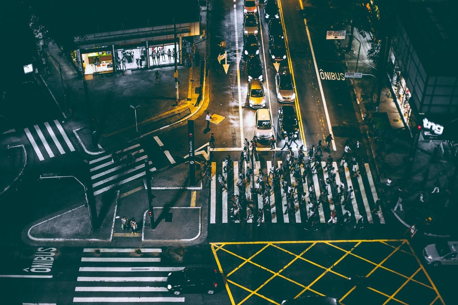 Fotografía de peatones