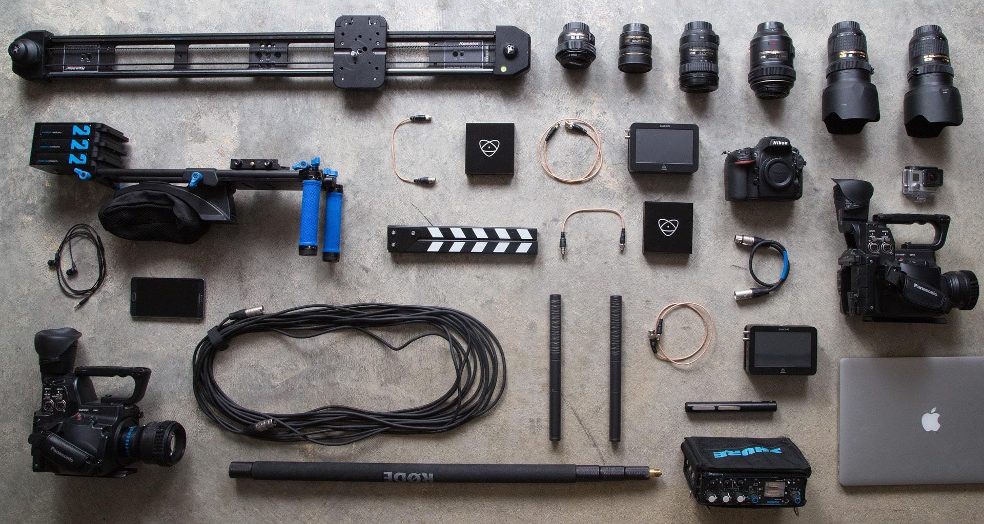 Accesorios cámara de vídeo