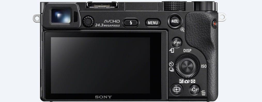 Pantalla Cámara EVIL Sony A6000