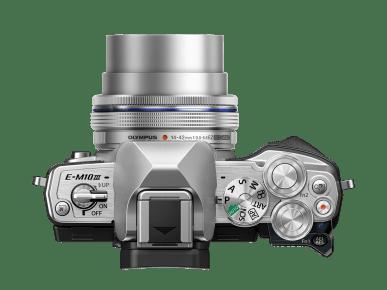 Botones cámara EVIL Olympus OM-D E-M10 Mark III