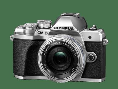 fotografía frontal cámara EVIL Olympus OM-D E-M10 Mark III