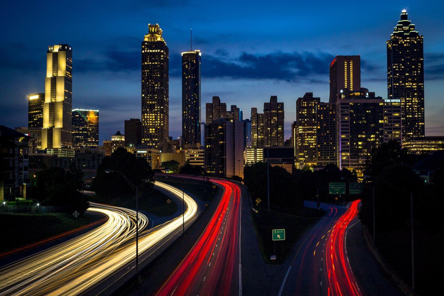fotografía modo manual coches en la ciudad