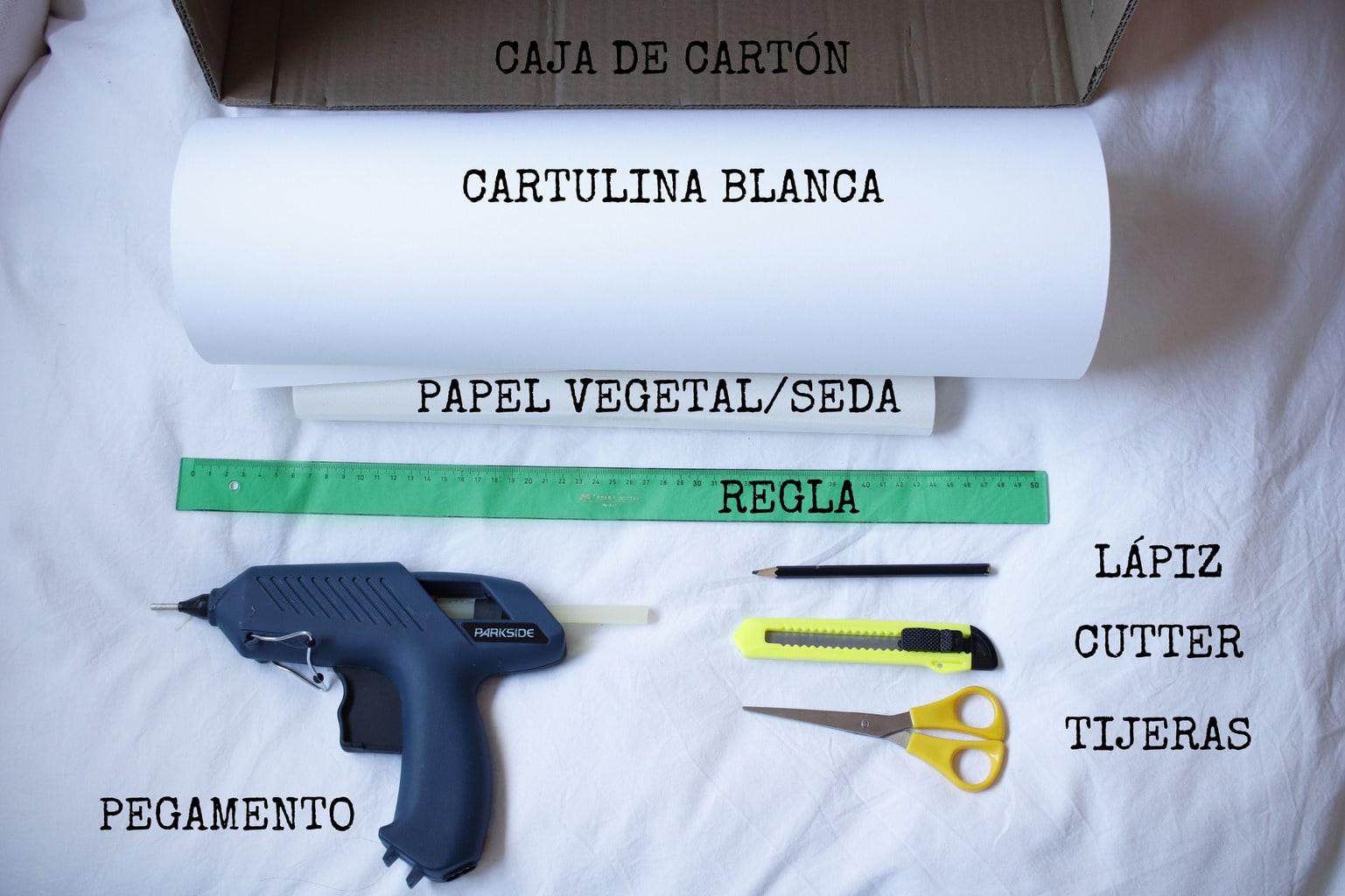 herramientas necesarias para una caja de luz