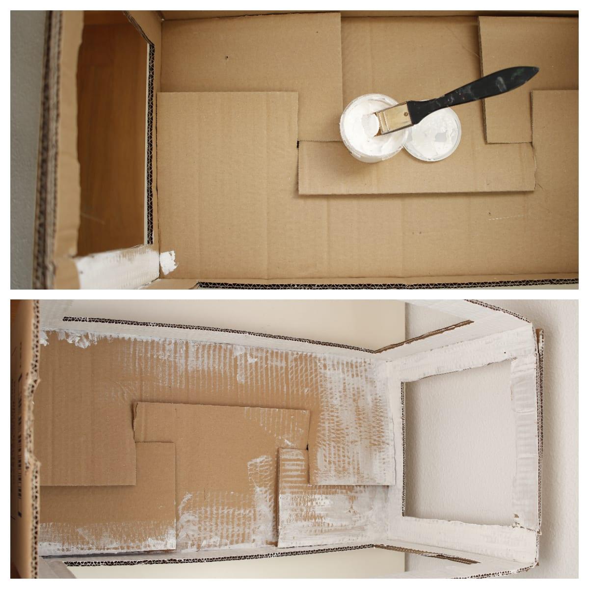 Ejemplo cartón para caja de luz