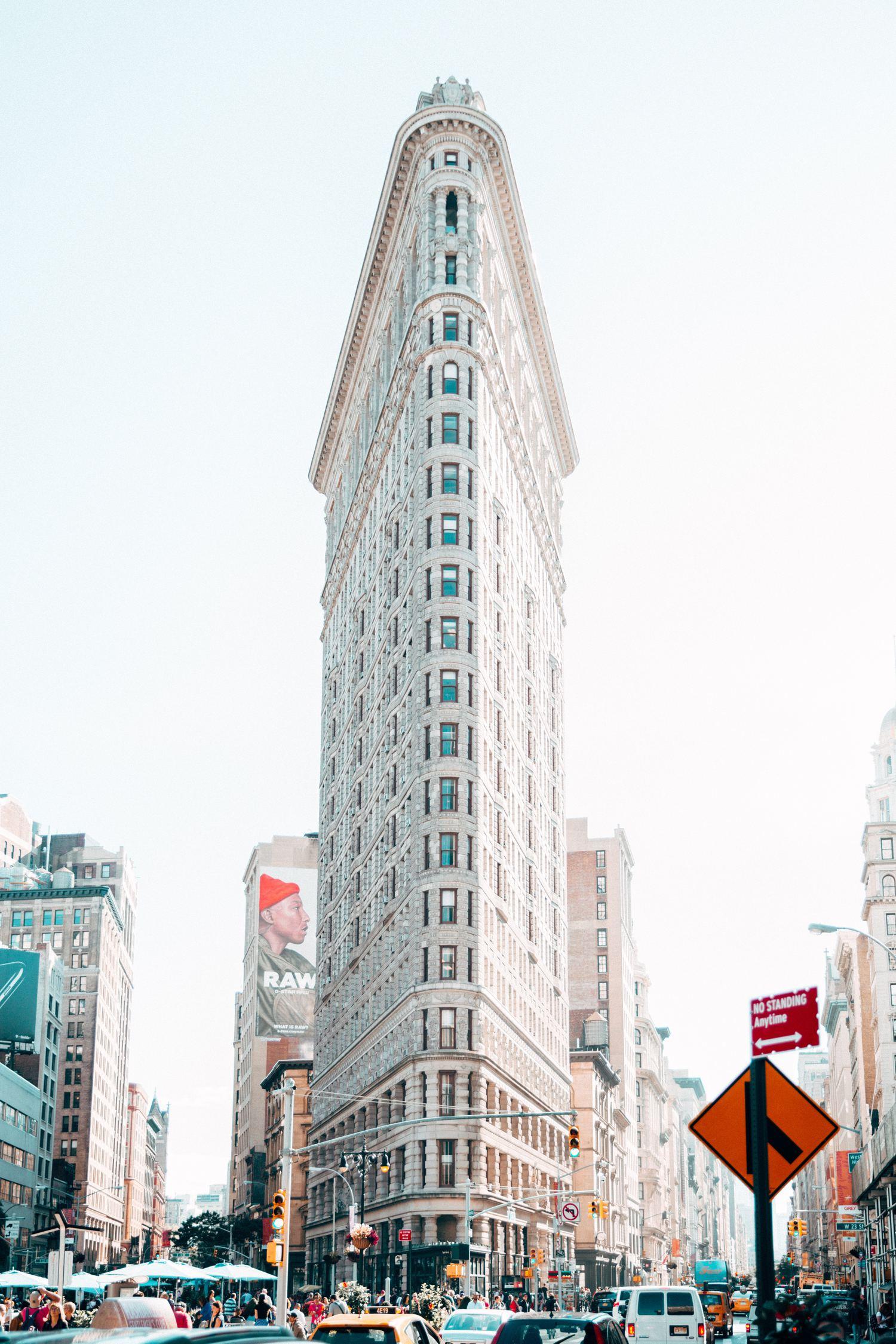 Fotografía del edificio General Electric NY