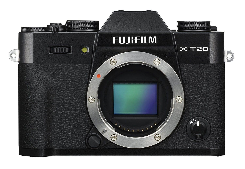 Frontal Cámara EVIL Fujifilm X-T20