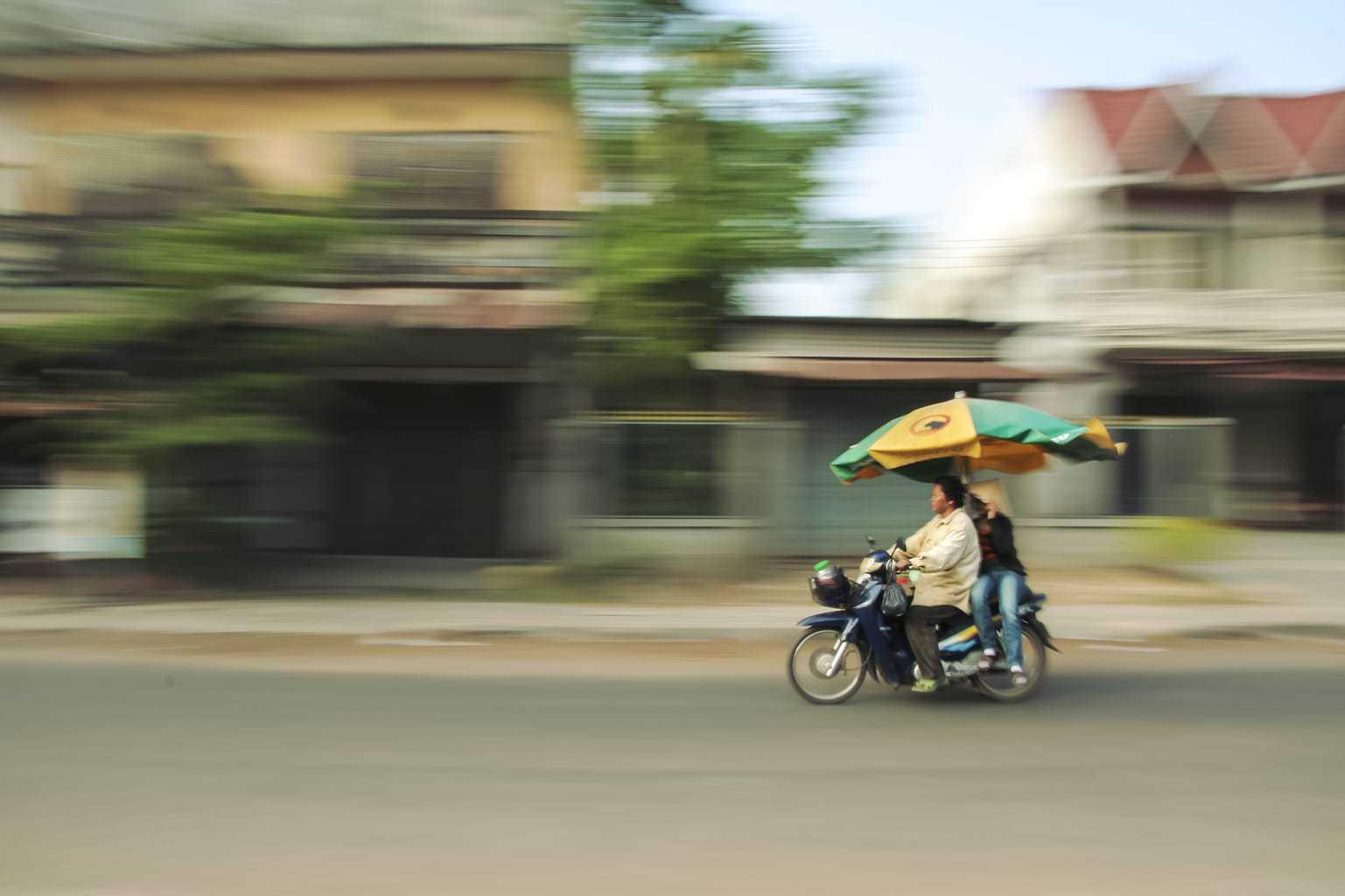 fotografía barrido en Asia