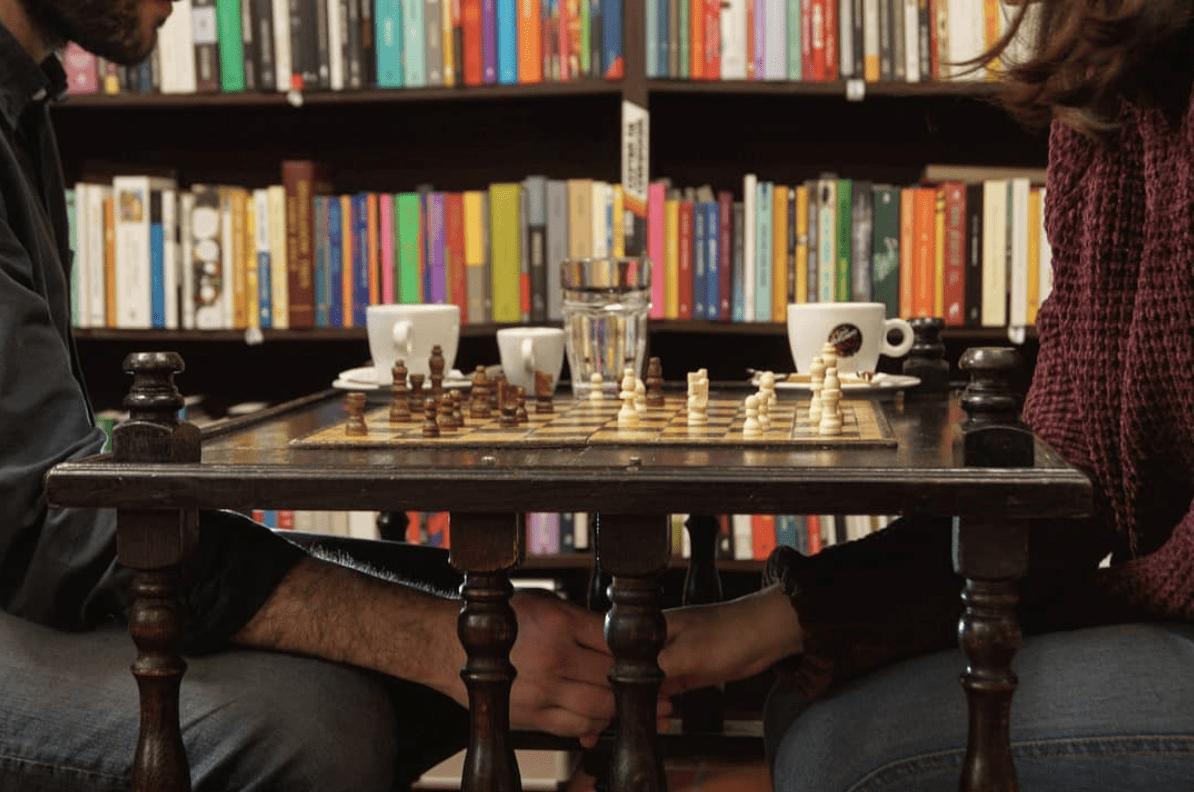 fotografía de ajedrez