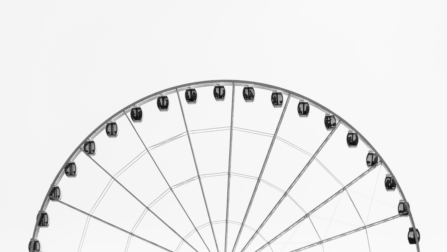 fotografía minimalista carrusel