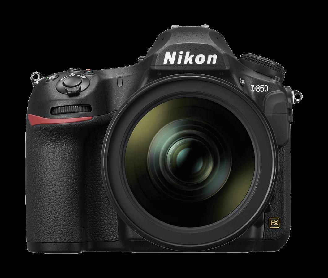 Frontal Cámara Réflex Nikon D850