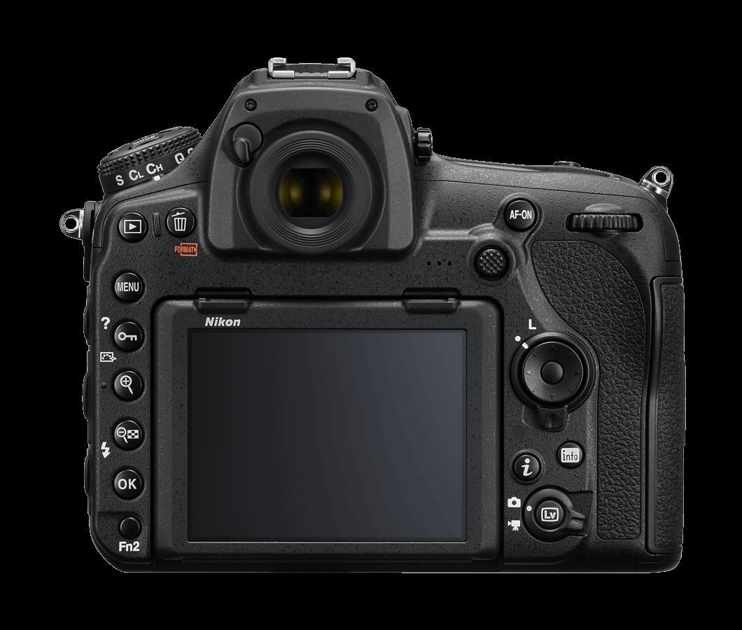 Trasera Cámara Réflex Nikon D850
