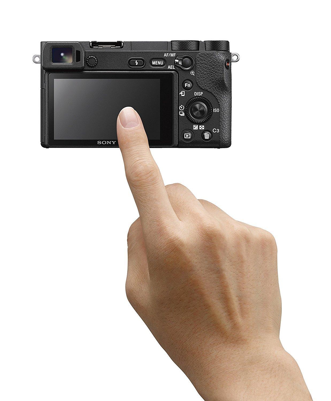 Pantalla táctil Cámara EVIL Sony A6500