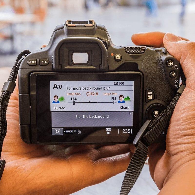 Pantalla Cámara Réflex Canon 200D