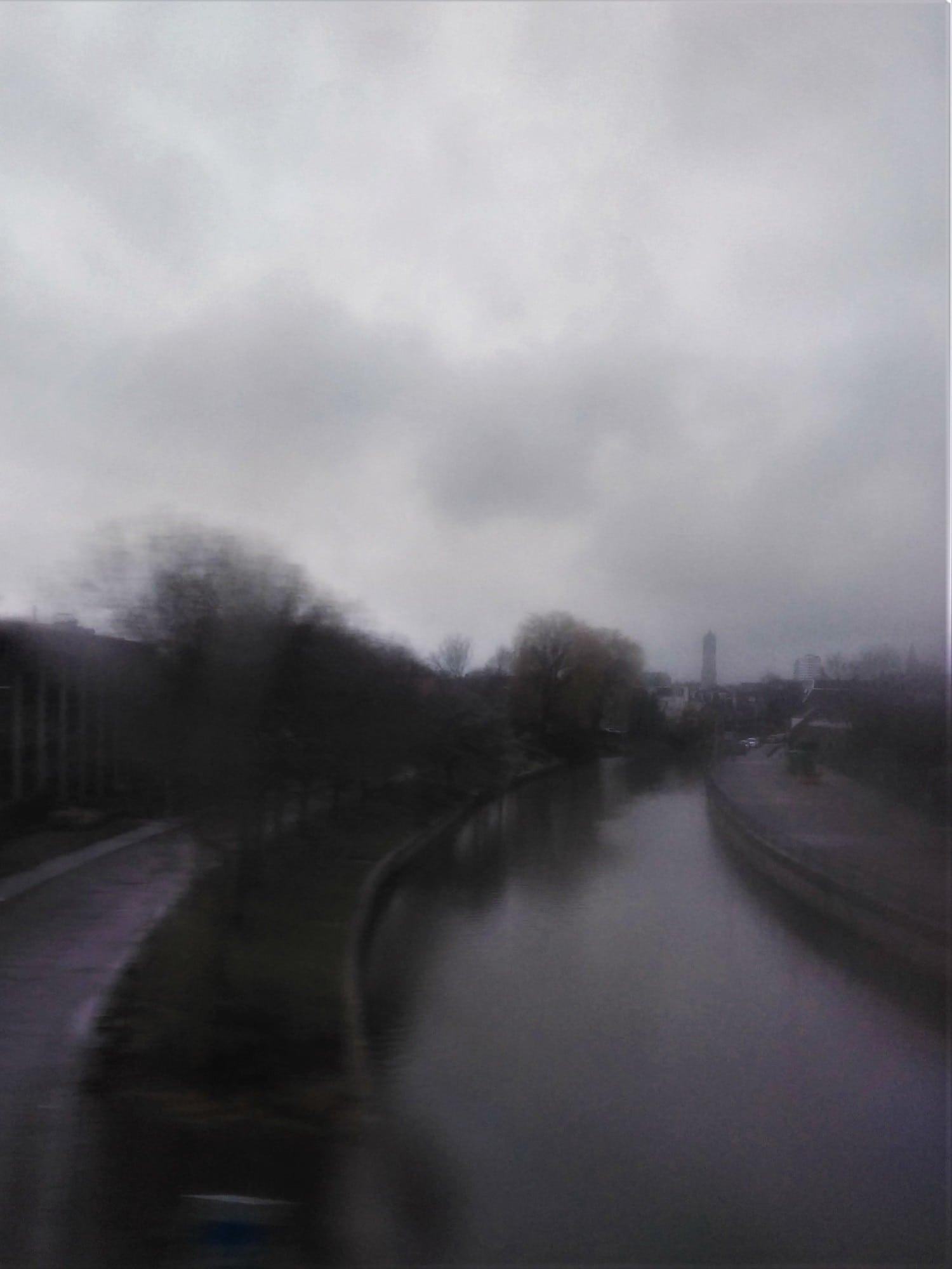 Fotografía paisaje difuso