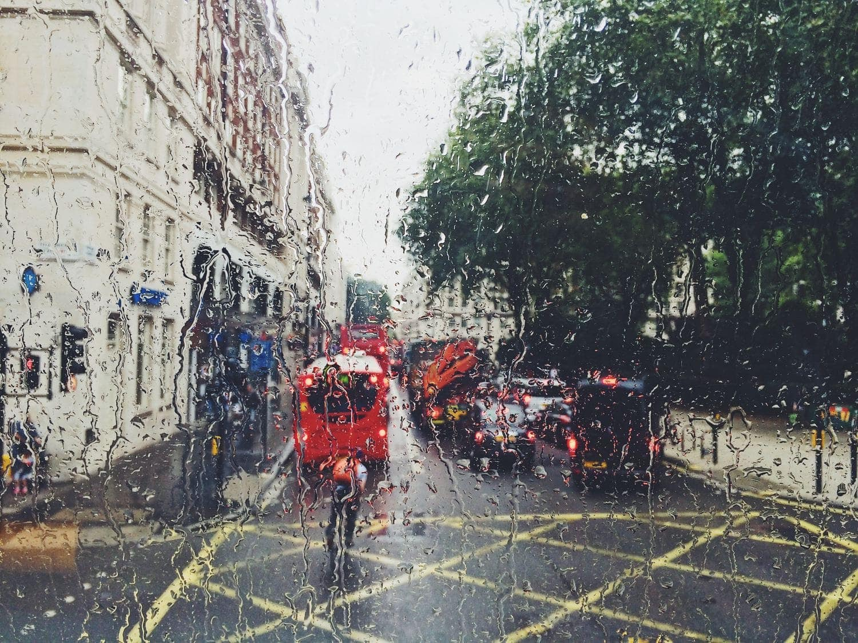 Fotografía de un día lluvioso