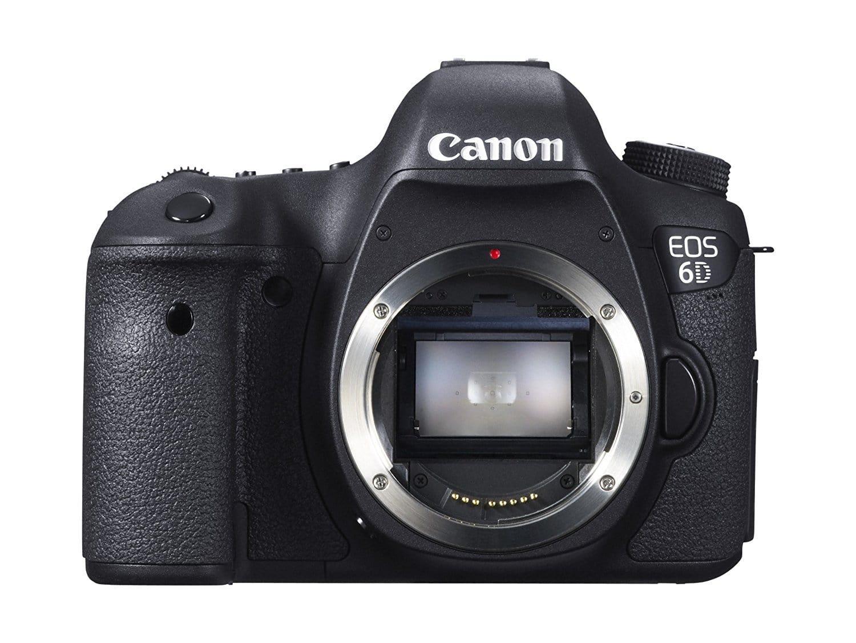 Frontal Cámara Réflex Canon 6D