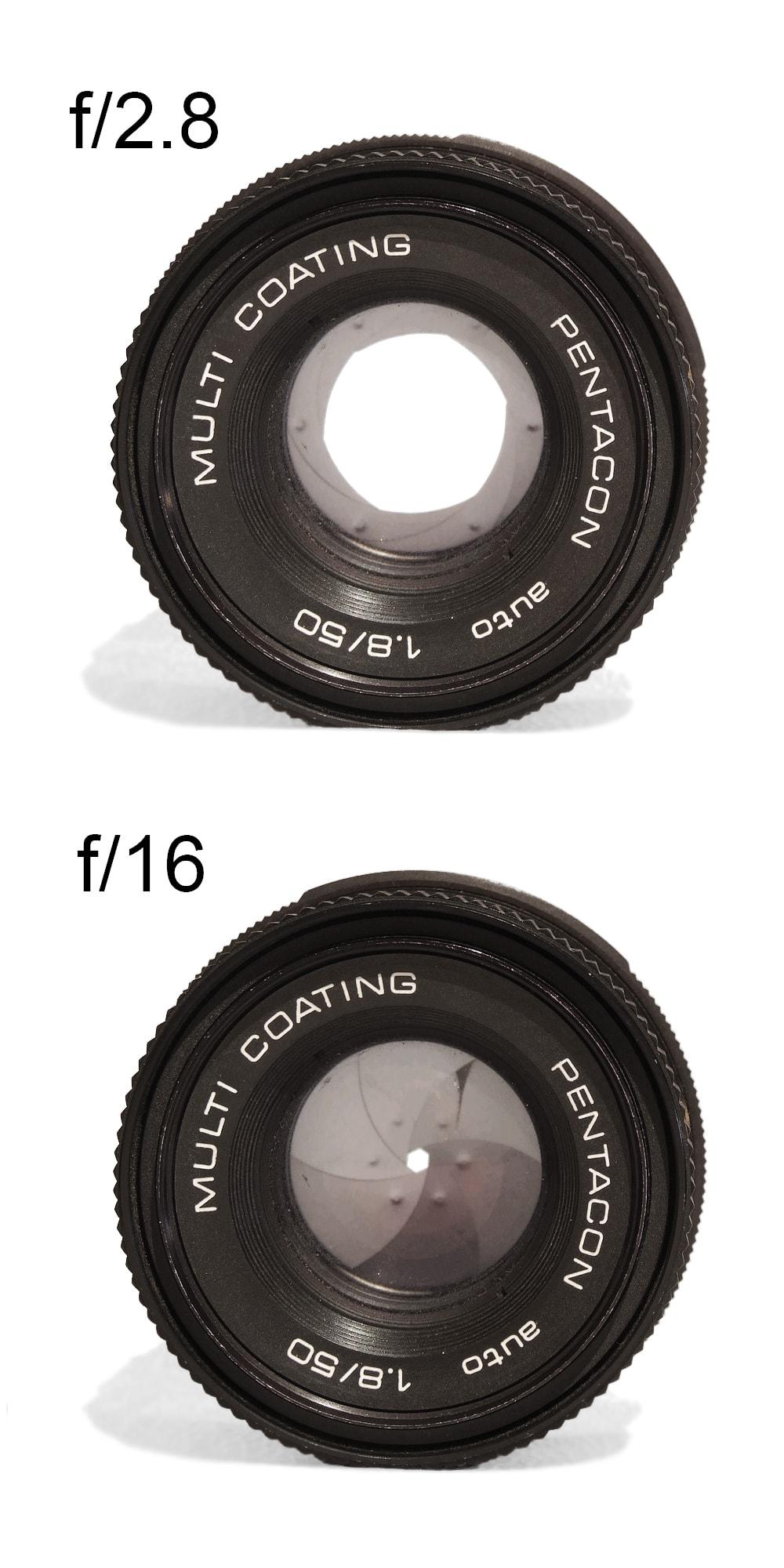 ilustración diferentes aperturas