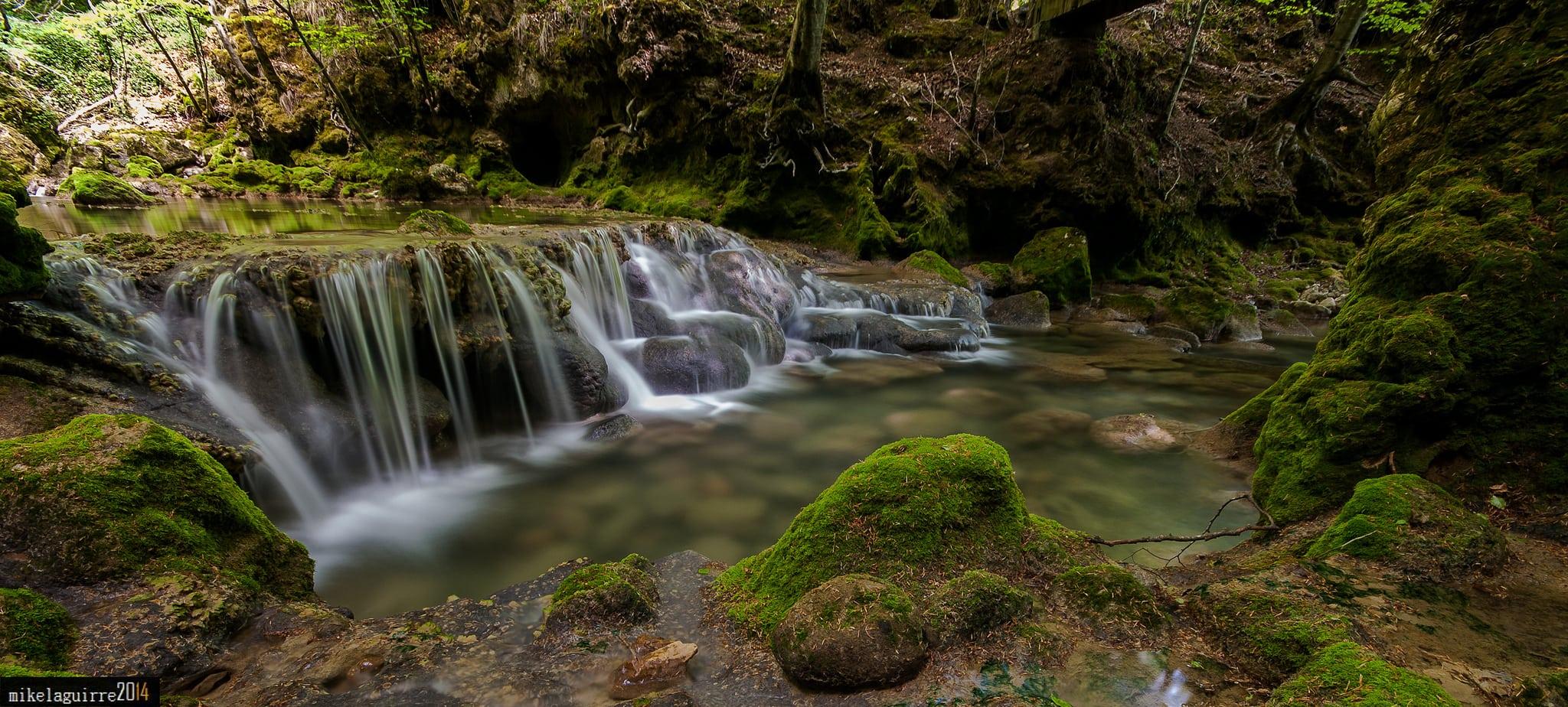 fotografía paisaje con filtro polarizador