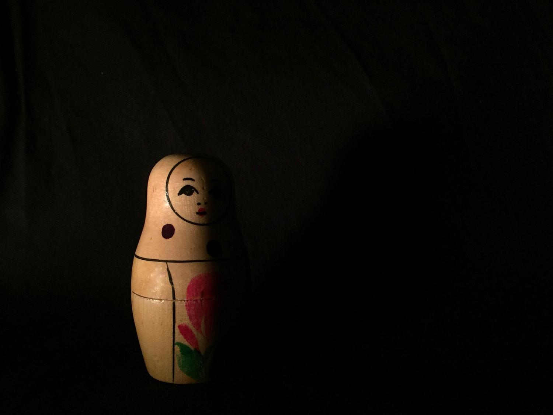 Fotografía matryoshka clave baja