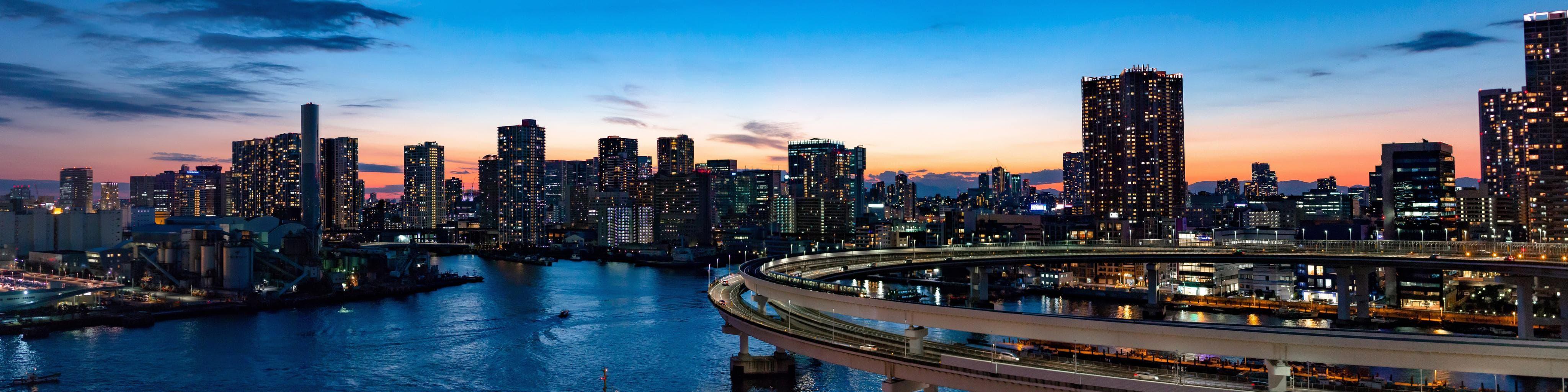 Fotografía panorámica ciudad