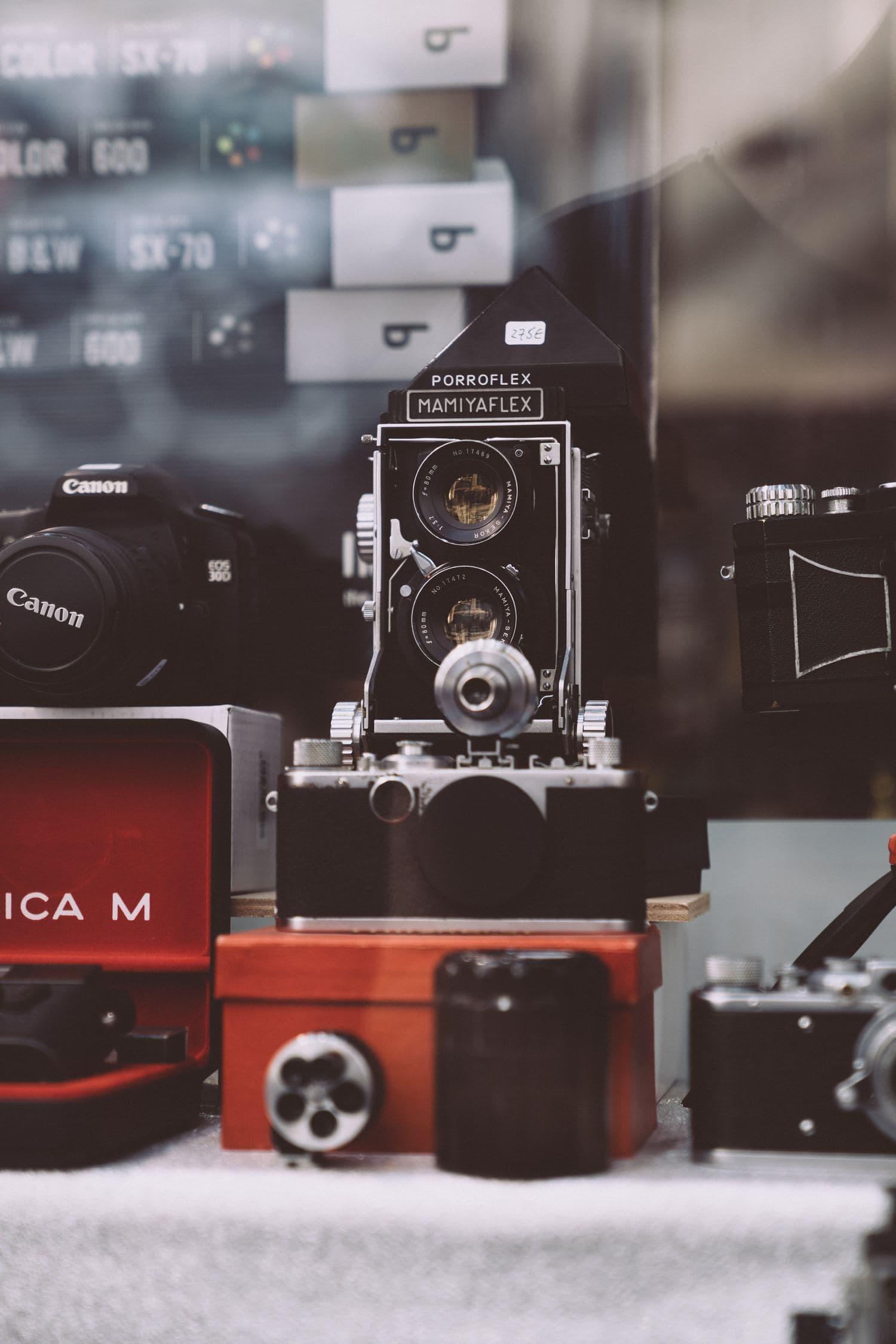 Fotografía cámaras vintage