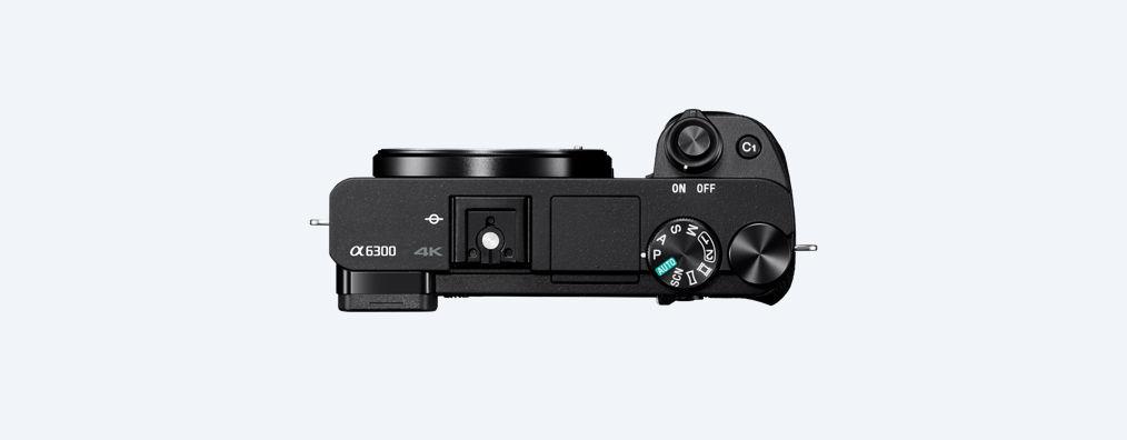 botones Cámara EVIL Sony A6300