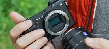 montar objetivo Cámara EVIL Sony A6300