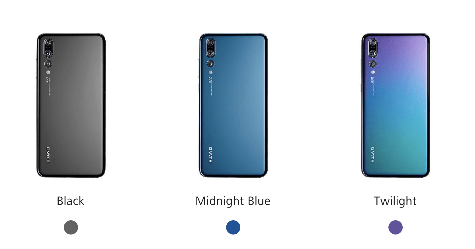 Colores Huawei P20 Pro