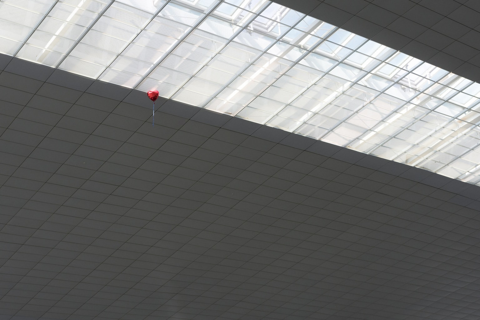 Fotografía globo rojo