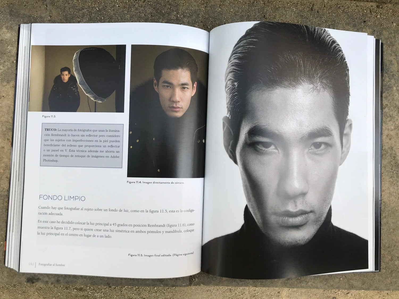 Fondo Libro fotografiar al hombre