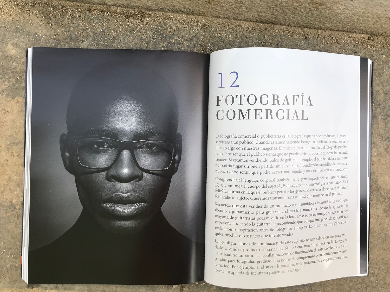 Comercial Libro fotografiar al hombre