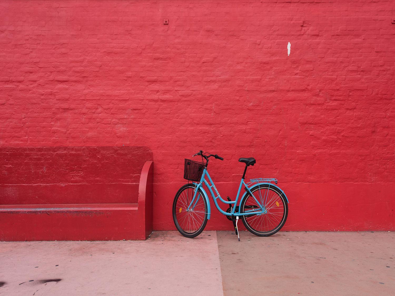 Fotografía de una bici