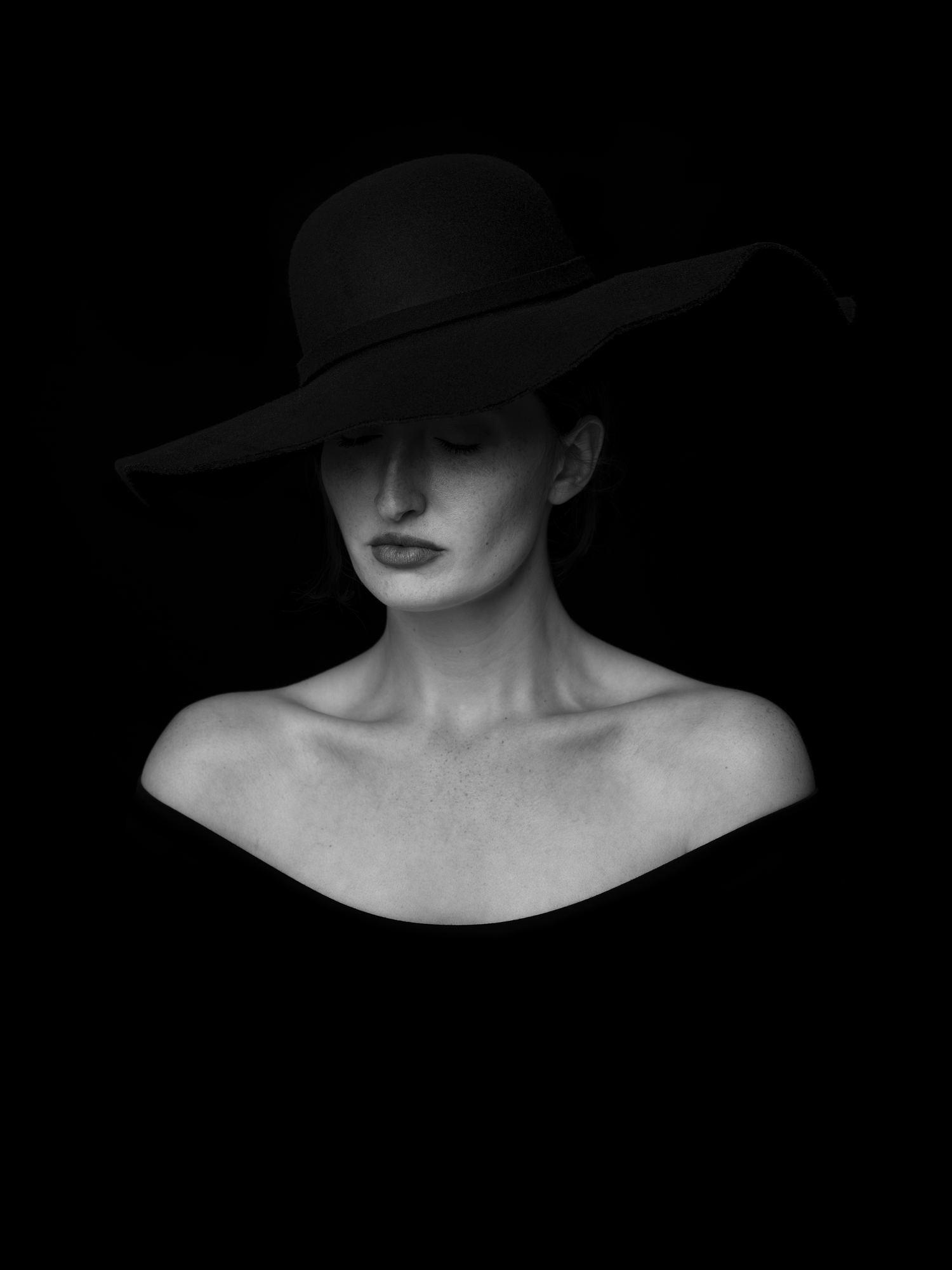 fotografía retrato mujer clave baja