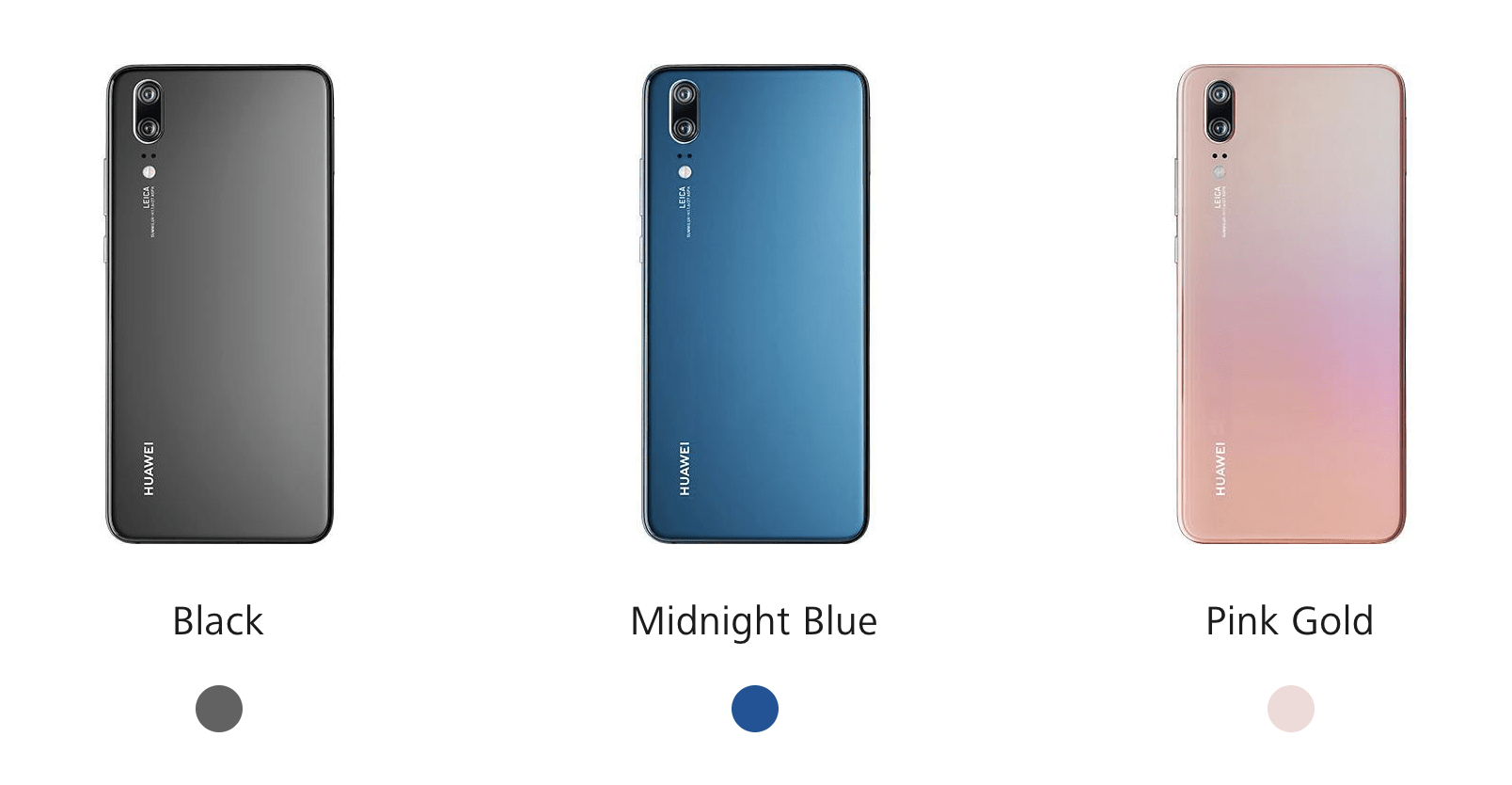 Colores Huawei P20