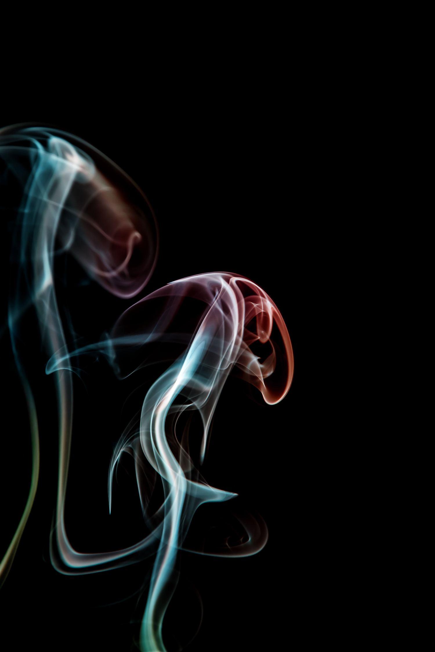 fotografía humo clave baja
