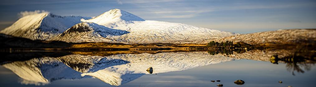 fotografía panorámica de una montaña Lensbaby burnside 35mm